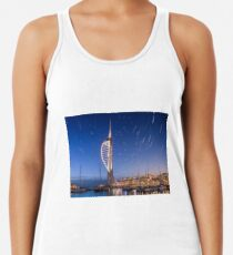 Spinnaker Tower With Star Trails Women's Tank Top