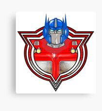 Transformers Optimus Prime G1 Canvas Print