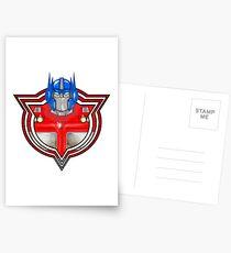 Transformers Optimus Prime G1 Postcards