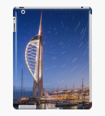 Spinnaker Tower With Star Trails iPad Case/Skin
