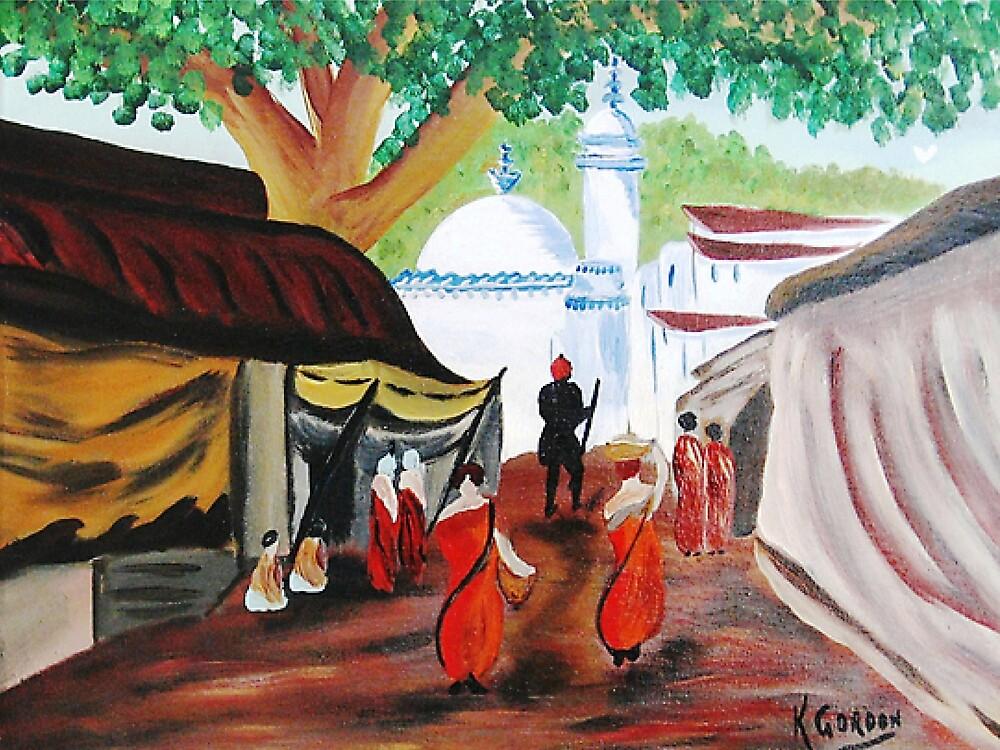 Morocco Market by WhiteDove Studio kj gordon