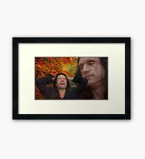 Wistful Wiseau Framed Print