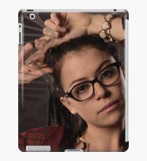 Cosima Niheaus: the sexiest Geek Monkey ever! iPad Case/Skin