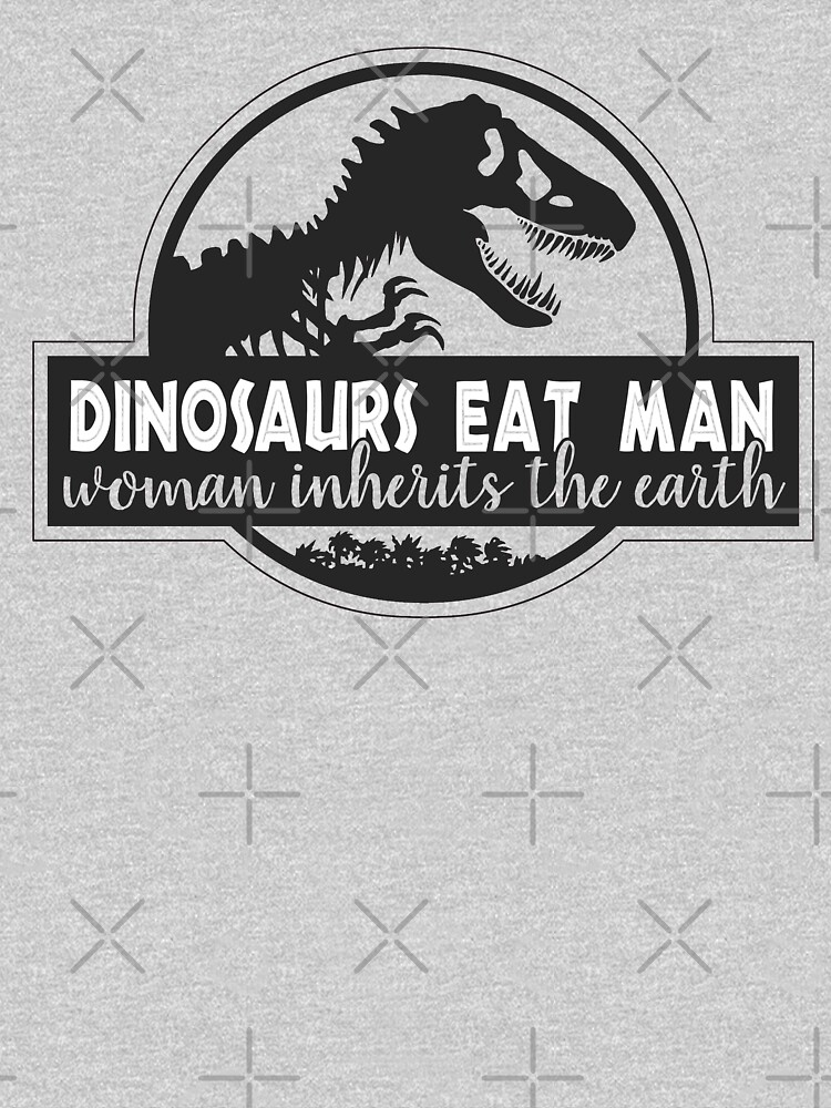 Dinosaurs Eat Man by ninthstreet
