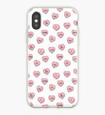 Vinilo o funda para iPhone BTS corazones