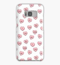 BTS hearts Samsung Galaxy Case/Skin