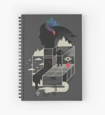 Lucid Screaming Spiral Notebook