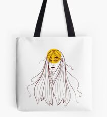 Only Sometimes Here Tote Bag