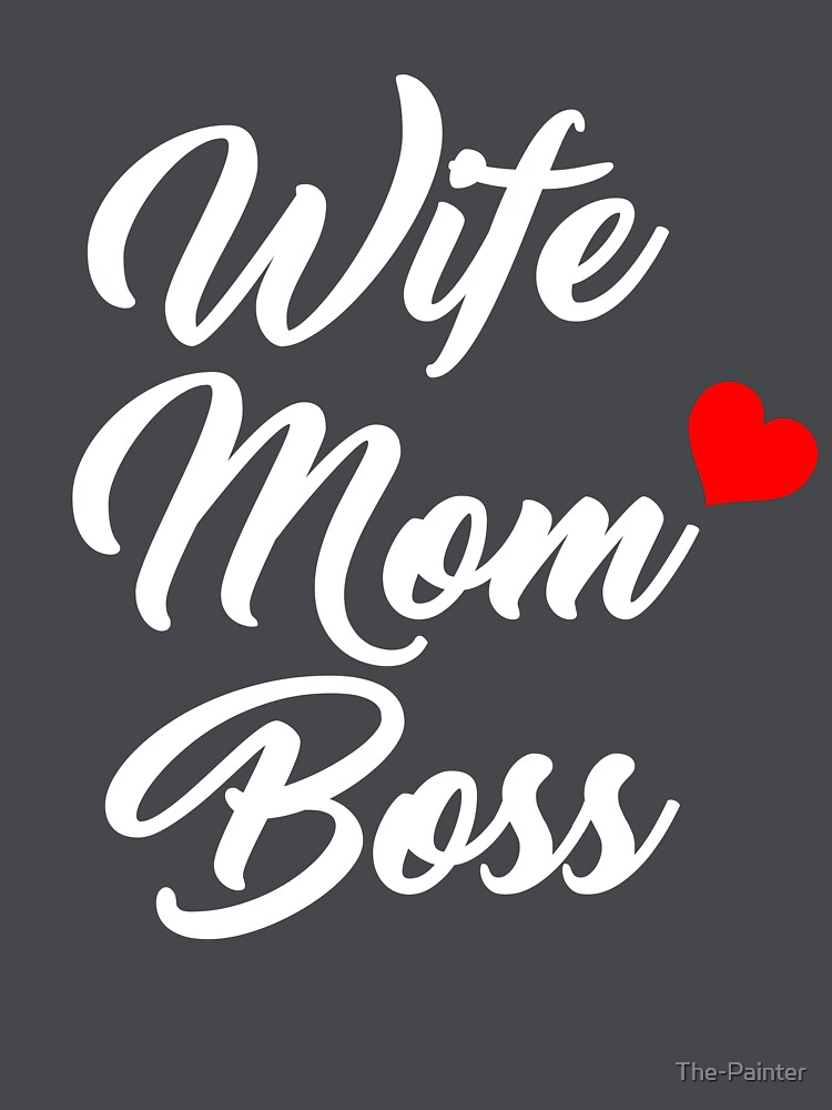Mom shirts wife mom boss shirt mothers day gift mothers shirt funny mom  shirt gift for 7ddf4f5f565e