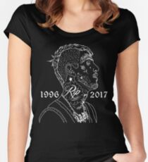 Rest In Peace Lil Peep (Version 3) Women's Fitted Scoop T-Shirt