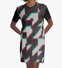Trend Me Up Graphic T-Shirt Dress