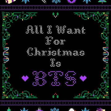 Todo lo que quiero para Navidad es BTS de amiar15