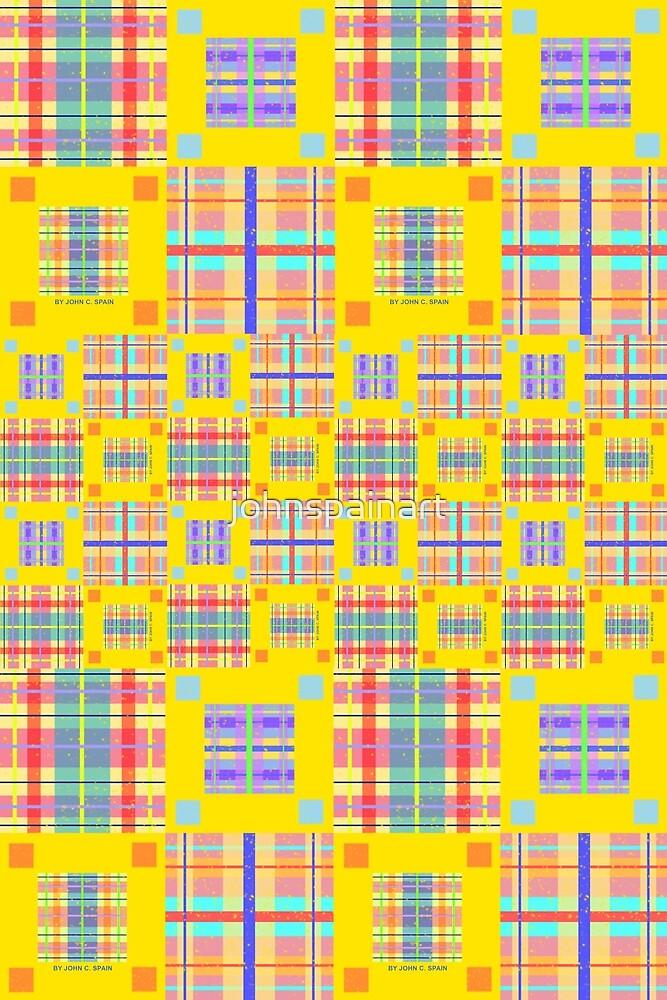 John C. Spain Custom Pattern #1 by johnspainart