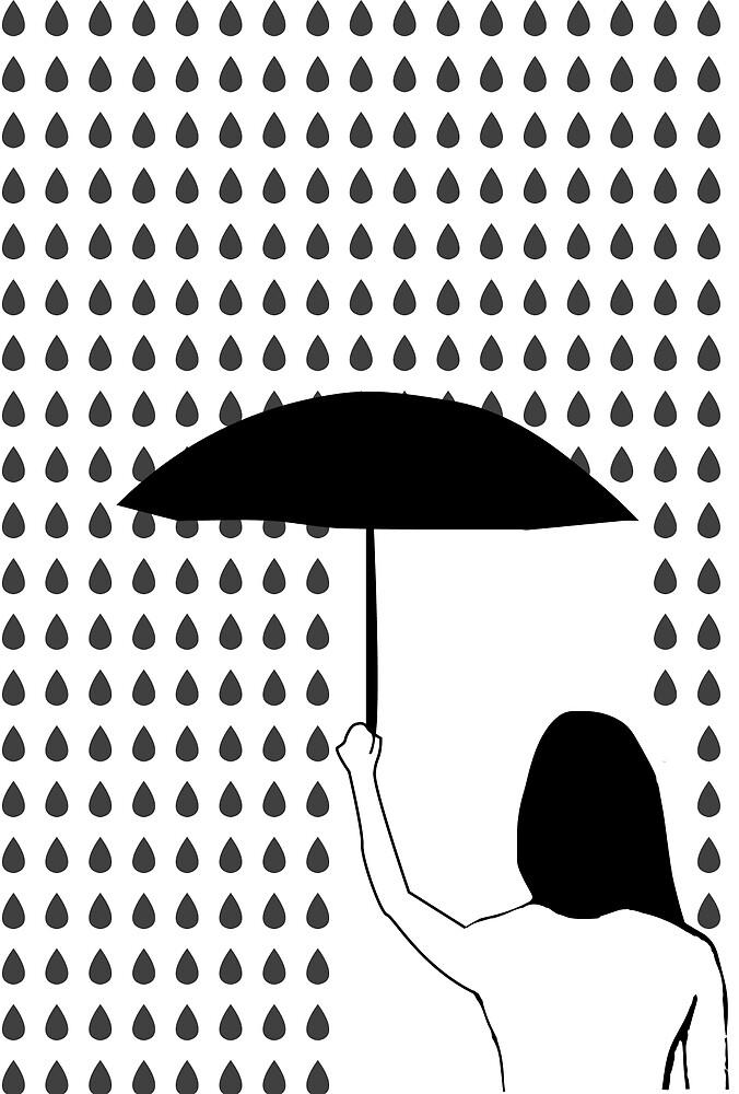 It's raining by julesbonneville