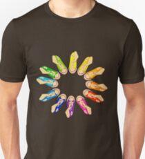Hightop Colorwheel Unisex T-Shirt