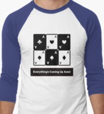 Asexual Asexualise Everything's Coming Up Aces! Asexual Ace Playing Cards T-Shirt