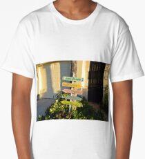 Boca Grande Beach Paradise Sign Long T-Shirt
