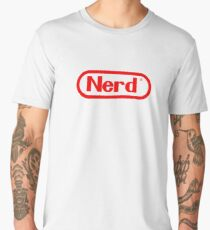 Nerd Men's Premium T-Shirt