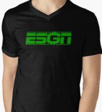 ESGNgrn Men's V-Neck T-Shirt
