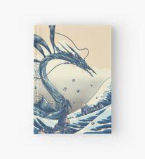 Cuaderno de tapa dura La gran ola de Altissia