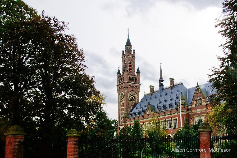 Peace Palace - The Hague by Alison Cornford-Matheson