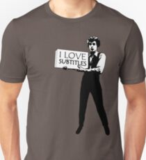I heart subtitles! T-Shirt