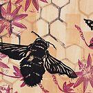 Backyard Bees by craftyhag