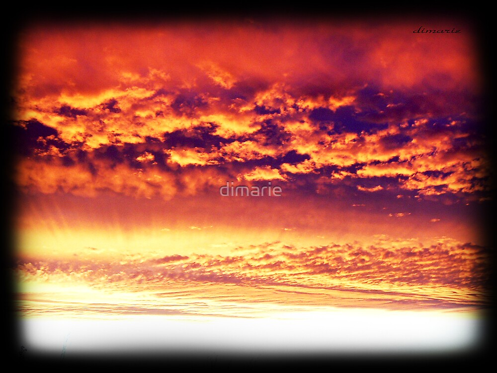 Grandview Autumn Sunset Series - no.2 (redone) by dimarie