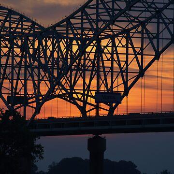 Memphis Bridge by visualyzethis