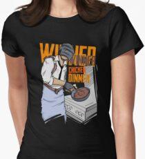 PUBG - Winner, Winner Chicken Dinner Merchandise Women's Fitted T-Shirt