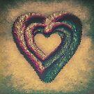 Vintage Fur Heart by Conundrum Arts