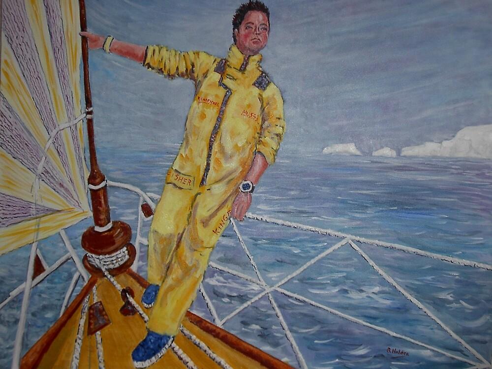 Ellen MacArthur by BRIAN HOLDEN