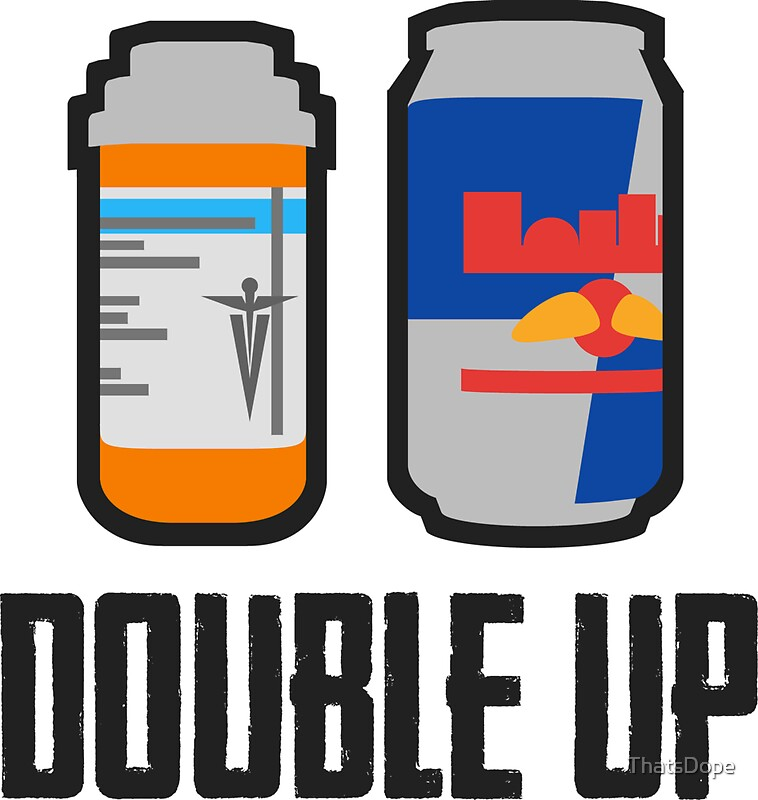 Pubg double up painkiller and energy drink by thatsdope