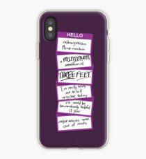 Hello, Ordinary Person iPhone Case