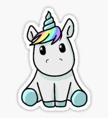 Pegatina Kawaii Unicorn