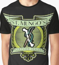 St. Mungo Logo Graphic T-Shirt