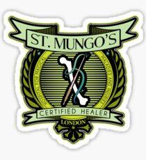 St. Mungo Logo Sticker