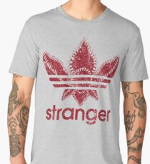stranger things adidas red Men's Premium T-Shirt