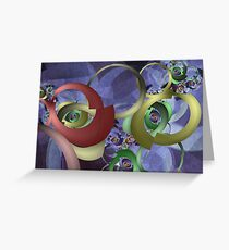 Twisted Perception Greeting Card