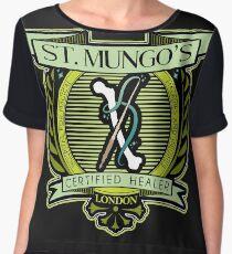 St. Mungo Logo Women's Chiffon Top