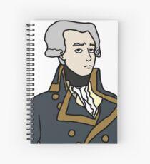 Cuaderno de espiral Marqués de Lafayette