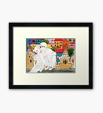 Barcelona Love Framed Print