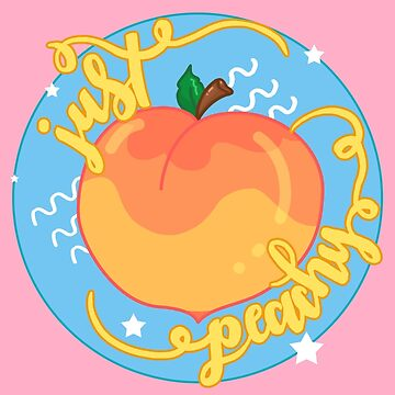 Just Peachy! by coolkidstrider