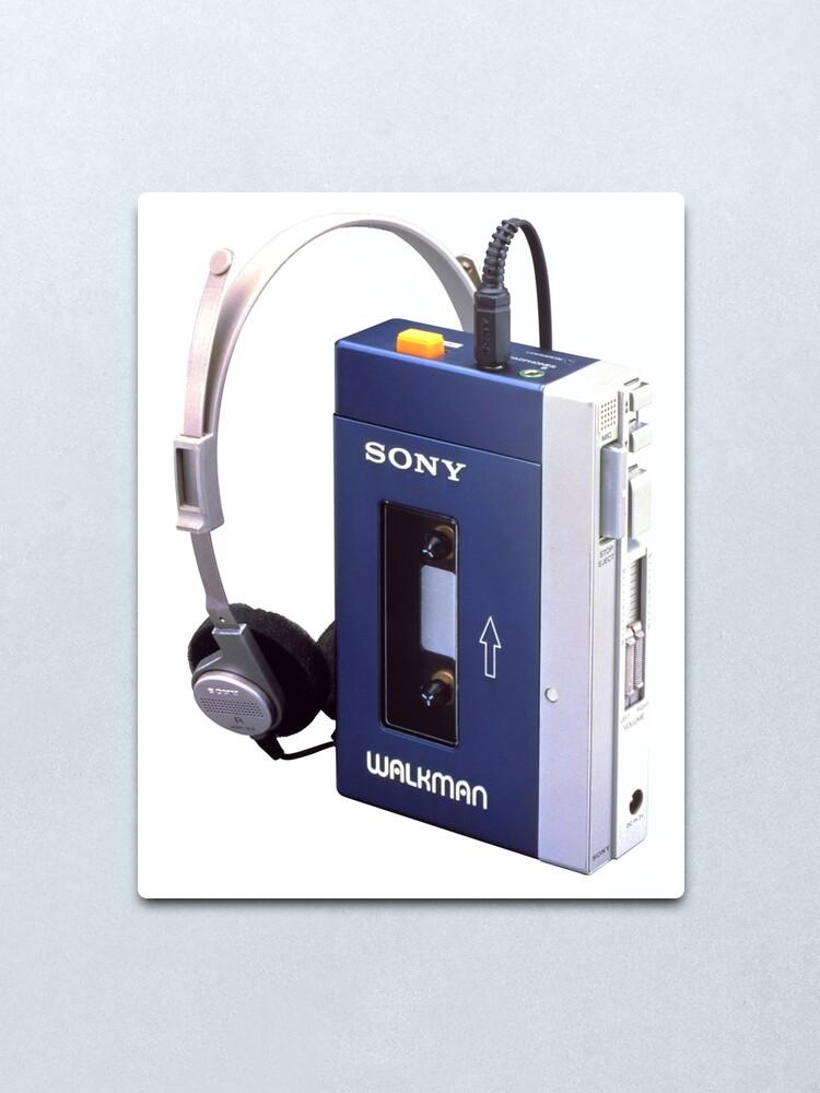 Alternate view of Sony Walkman Metal Print