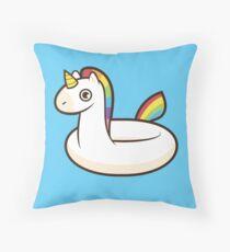 Unicorn Float Throw Pillow