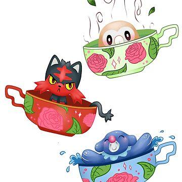 Starter Tea set by JessieiiiDesign