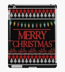 Merry Christmas Ugly Funny Parody iPad Case/Skin