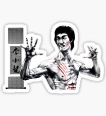 BRUCE LEE - DRAGON Sticker