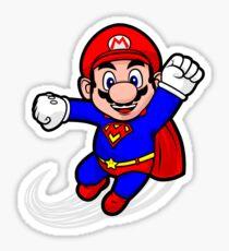 Super Plumber Sticker