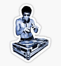 DJ BRUCE LEE Sticker